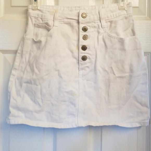 170b22b966 Brandy Melville Dresses & Skirts - Brandy Melville J. Galt white denim skirt